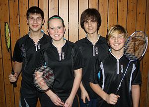 20110204 Badminton Schüler