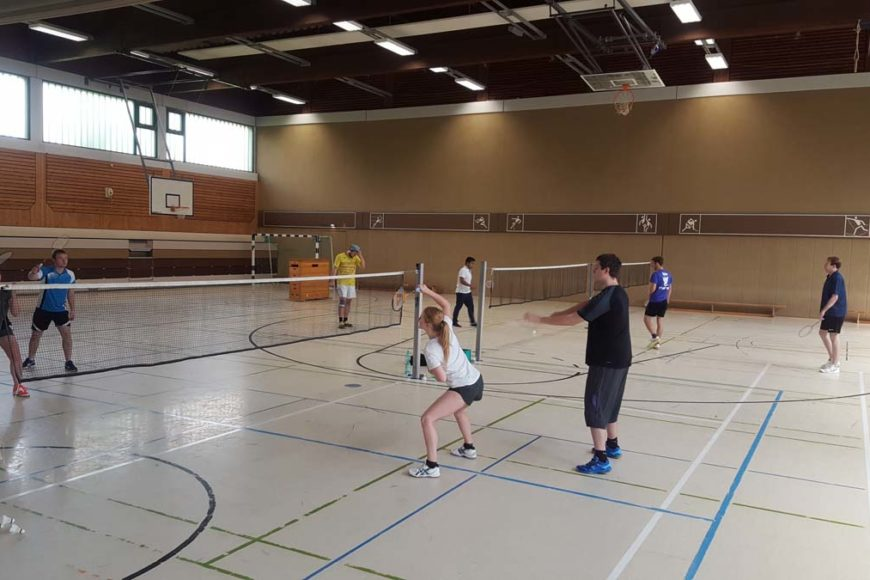 Badminton Trainingslager 2017