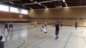 Badminton Trainingslager 2017
