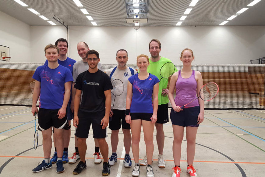Badminton Vereinsmeisterschaft TV Jahn Wahn 2018