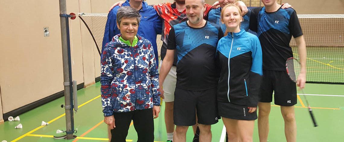 Badminton TV Jahn Wahn, erste Mannschaft, Bezirksklasse