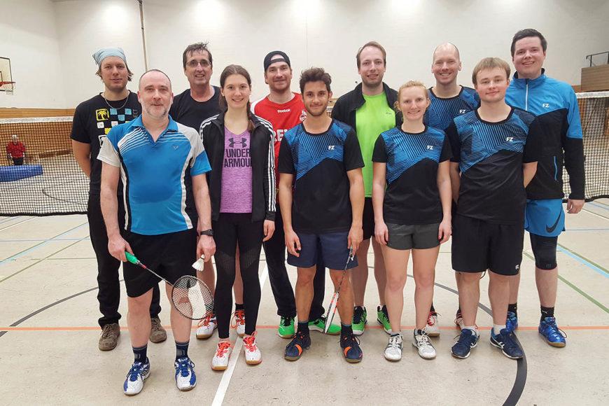 Vereinsmeisterschaft Badminton TV Jahn Wahn 2019, Teilnehmer