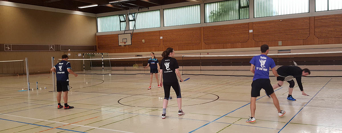Badminton Trainingslager TV Jahn Wahn Simmerath